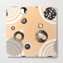 Circles V2 0)o)) Metal Print