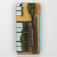 pool iPhone & iPod Skins featuring Pool by Theodore Parks