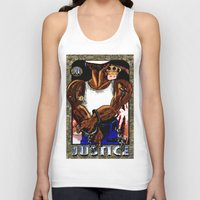 justice Tank Tops featuring justice by Dante r Hadley