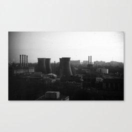 Bucharest Skyline Canvas Print