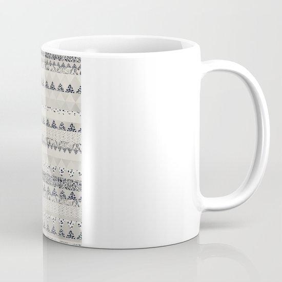 MONOTONE  GEOMETRIC ANIMAL PRINT  Mug