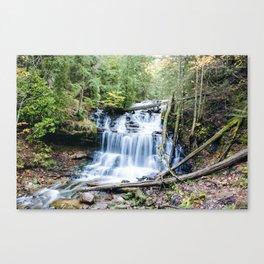 Michigan - Wagner Falls Canvas Print