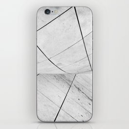 WHITEOUT: chicago disoriented iPhone Skin
