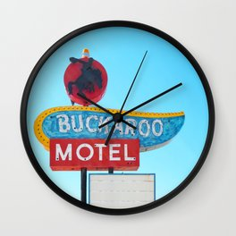 Buckaroo Motel Wall Clock