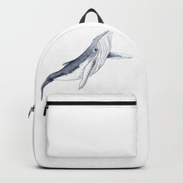 Baby humpback whale for children kid baby Backpack