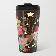 Holiday Crew Metal Travel Mug