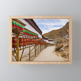 Tibet: Tashilumpo Monastery Framed Mini Art Print
