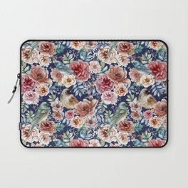 Flowers and Birs Laptop Sleeve