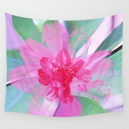 Floral Abstract 105 Wall Tapestry
