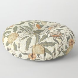 William Morris Fruit Pattern Floor Pillow