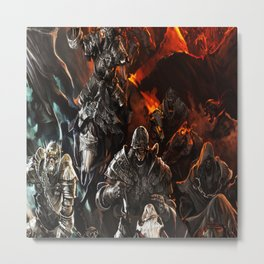 ghost troop Metal Print