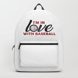 I'm in LOVE with Baseball Backpack