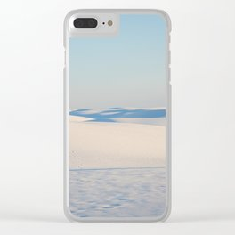 Ombre Sands Clear iPhone Case