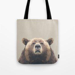 Low Poly Bear Tote Bag