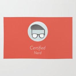 Certified Nerd Rug
