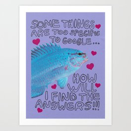 some things are too specific Art Print