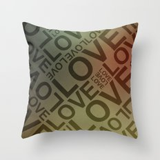 L O V E {II} Throw Pillow