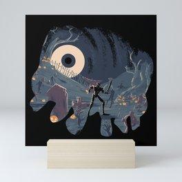 Sir Daniel Fortesque Mini Art Print