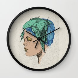 Portrait Study no.1 Wall Clock