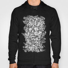 Misspent Youth Watercolor Doodle Hoody