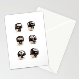 stoneheads 001 Stationery Cards