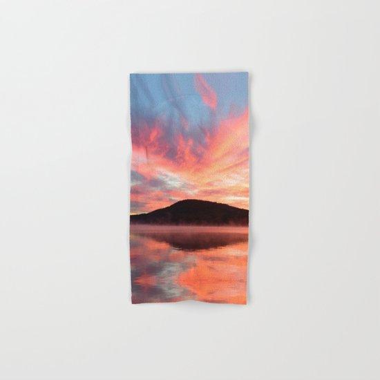 Glory: A Spectacular Sunrise Hand & Bath Towel