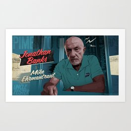 Mike Ehrmantraut Art Print
