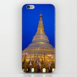 Shwedagon Pagoda, Yangoon Myanmar iPhone Skin