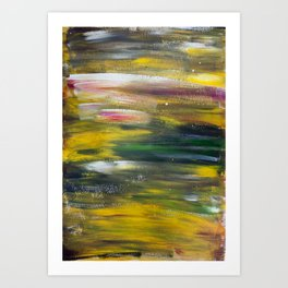 Gustav Klimt Fantasy Prolonged  Art Print