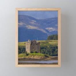 Castle Stalker Argyll, Scotland Framed Mini Art Print