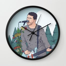 Jesse Lacey Brand New Wall Clock