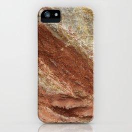Colorful Rock Texture Ibiza iPhone Case