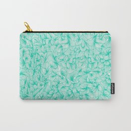 Knee-Deep in Turquoise Ink Carry-All Pouch