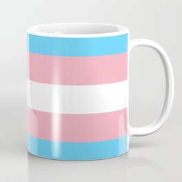 Transgender Pride Flag Coffee Mug