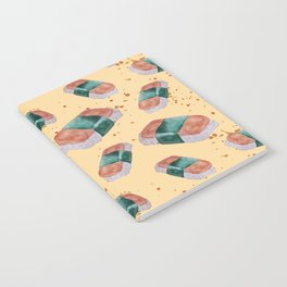 Spam Musubi Pattern Notebook
