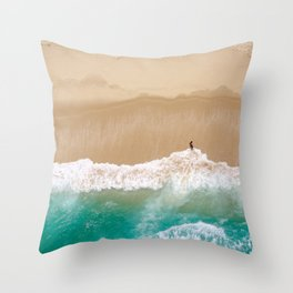 Peace to the Sea Throw Pillow