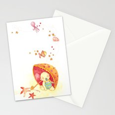 Baby beach Stationery Cards