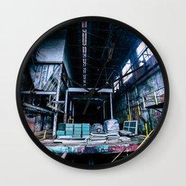 Abandoned Asylum I Wall Clock