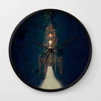 rocket Wall Clocks featuring ROCKET by ARCHIGRAF
