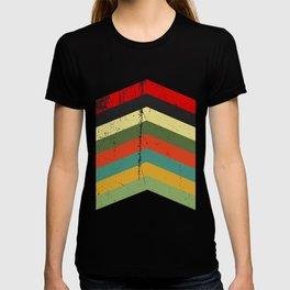 Grunge chevron T-shirt