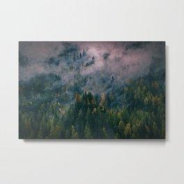 green layer Metal Print