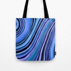 Mineralicious~Blue Agate Tote Bag