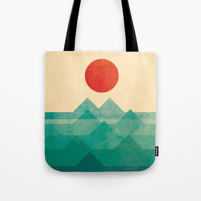 The ocean, the sea, the wave Tote Bag