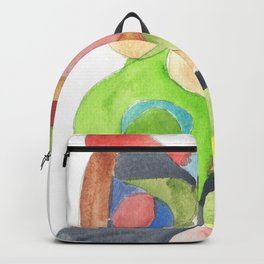 Life and Meaning 11| Abstract Watercolors Backpack