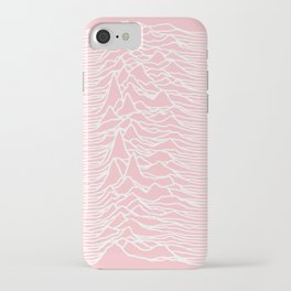 unknown pleasures iPhone Case
