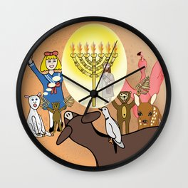 Jesus, The Light (Christian Children's Gift Products) Wall Clock