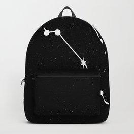 PISCES (BLACK & WHITE) Backpack