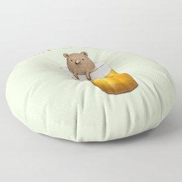 Pint of Bear Floor Pillow