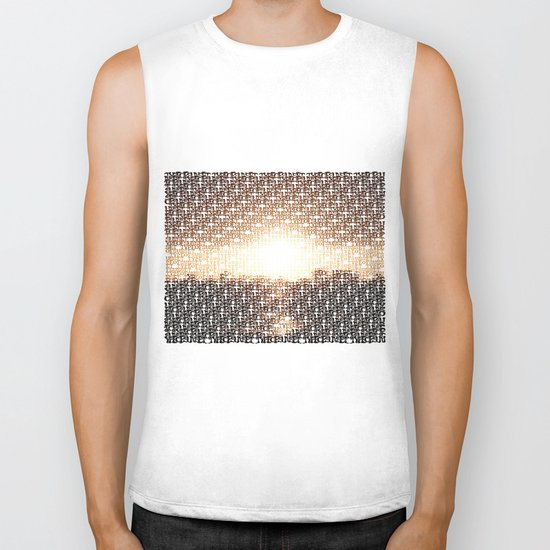Type of Sunset Biker Tank