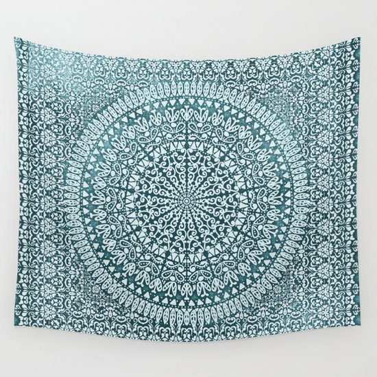 BOHO MANDALA BANDANA Wall Tapestry